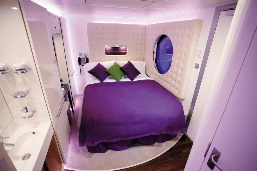 UNTOLD Odyssey Single Class Cabin